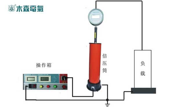 直流高压发生器试验接线图