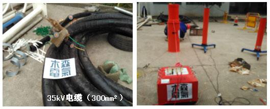 中期:串联谐振试验装置接线