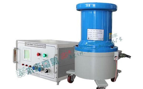 湖南水内冷发电机直流耐压装置