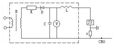 标准冲击电流检测法的原理接线