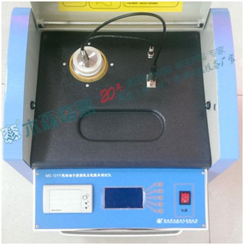 绝缘油介质损耗测试仪操作面板