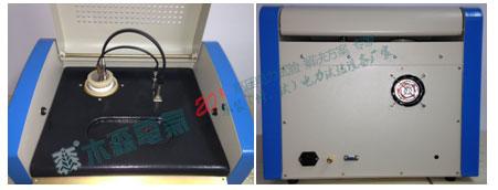 陕西绝缘油介质损耗测试仪上面板和后面板