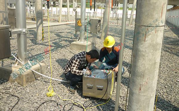 线路工频参数测试在高压输电线路试验现场