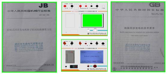 发电机转子阻抗测试仪测量要求