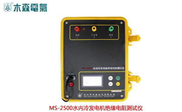 MS-2500F 水内冷发电机绝缘电阻测试仪